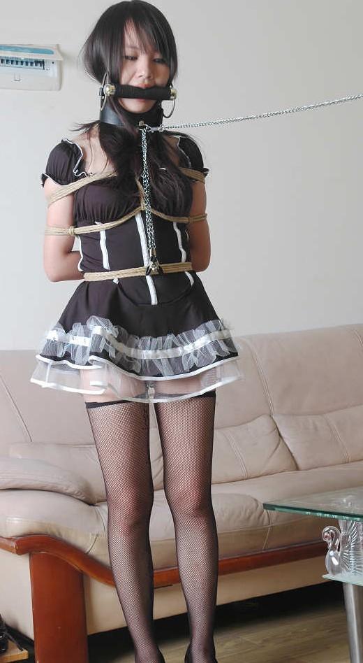 【着エロSM】着衣の上から縛る、そして放置! 無名モデルさん複数